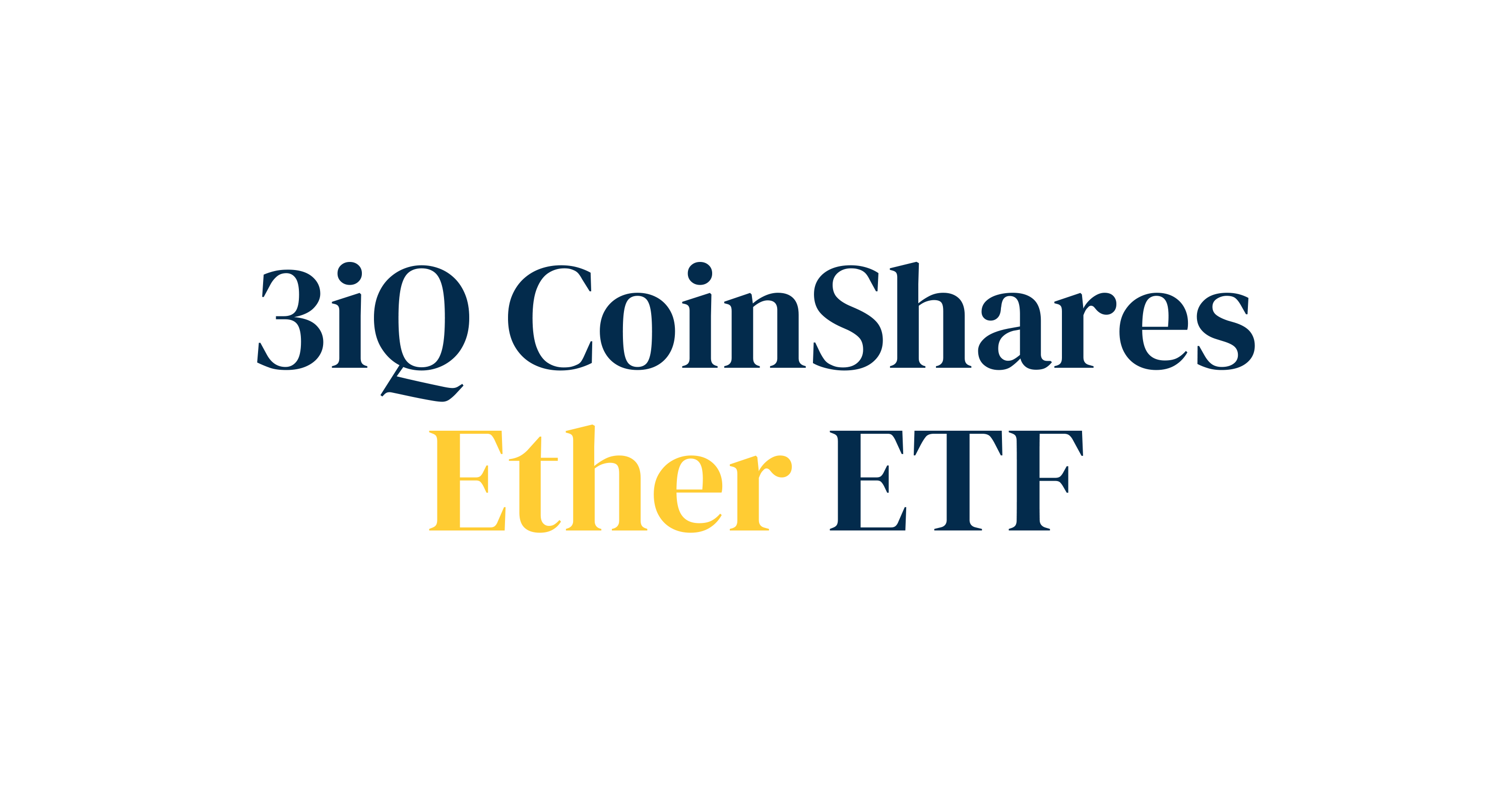 Options Trading Begins for the 3iQ CoinShares Ether ETF (ETHQ)